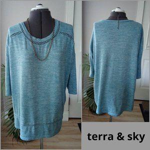 Terra & Sky 3/4 Sleeve T